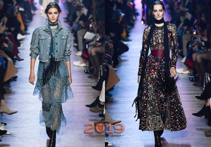 Модные луки осень-зима 2018-2019