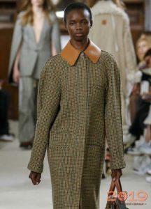 Пальто в стиле ретро