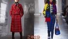 Модный клетчатый принт 2019 года