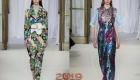 Модные абстрактные принты образов 2018-2019 года