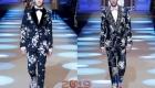 Цветочный принт мужская мода осень-зима 2018-2019