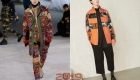Модные цветочные принты для мужчин зима 2018-2019