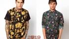 Рубашка с цветочным принтом тренд зимы 2081-2019 года