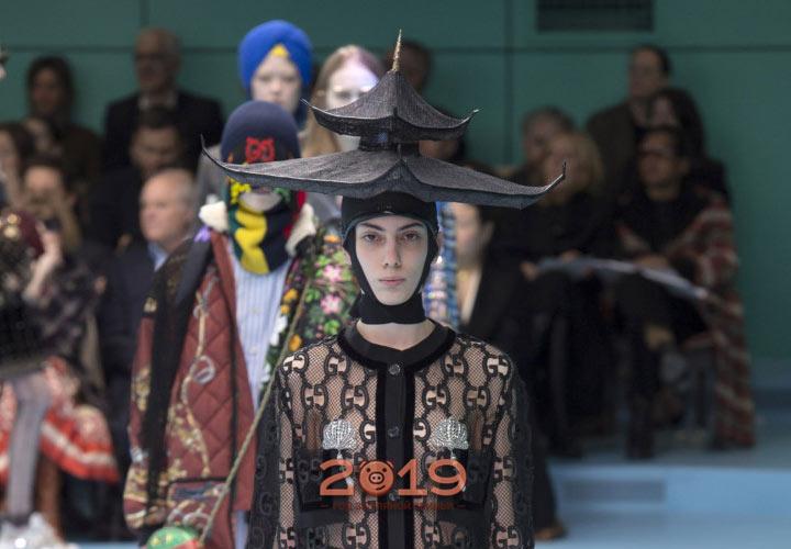 Шляпа от Gucci осень-зима 2019-2019