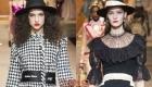 Шляпы осень-зима 2018-2019 Dolce & Gabbana