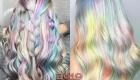 Волосы с голографическим эффектом мода 2019 года