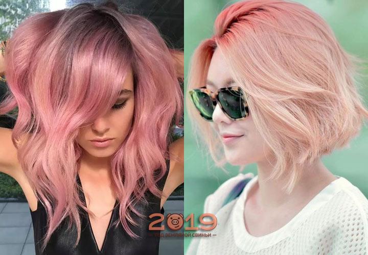 Модный цвет волос осень-зима 2018-2019 года, оттенки, приемы окрашивания