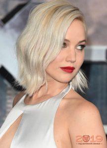 Модный ледяной блонд 2018-2019 года