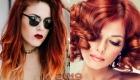Необычное бронзовое окрашивание волос