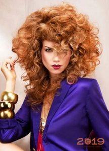 Окрашивание волос в золотисто-рыжий оттенок