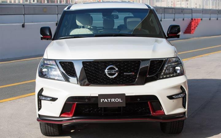 Экстерьер Nissan Patrol 2019