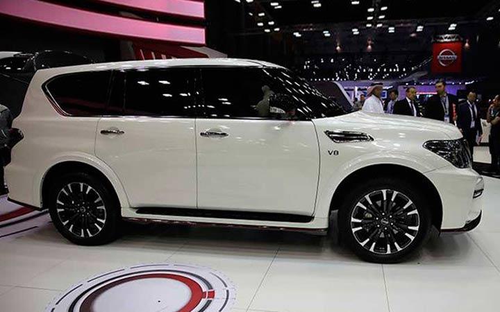 Новый Nissan Patrol модели 2019 года