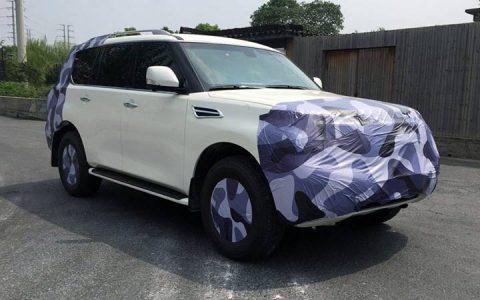 Первые фото Nissan Patrol 2019