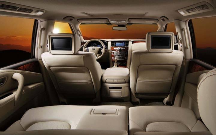 Салон Nissan Patrol 2019