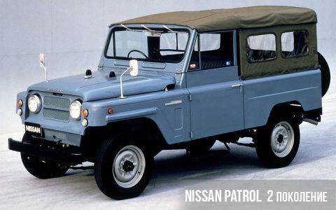 Nissan Patrol 2 поколения