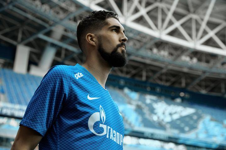 Игрок Зенитав новой форме 2018-2019 года