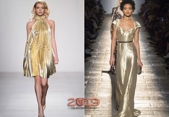 Модное платье для встречи Нового 2019 года