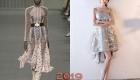 Кружевное новогоднее платье 2019