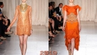Оранжевое платье на Новый Год 2019
