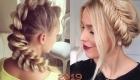 Прически с модными косами