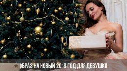 Образ на Новый 2019 год для девушки