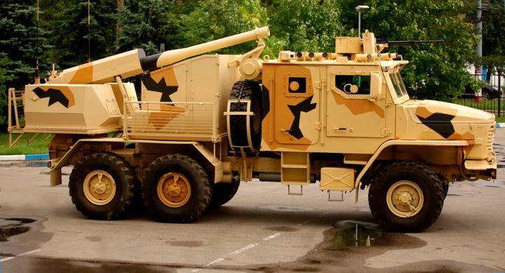 Самоходное артиллерийское орудие «Флокс»