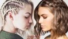 Асимметричные косы праздничная прическа 2019 года