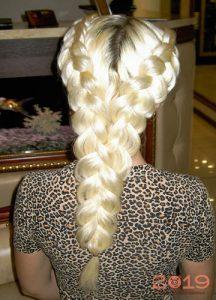 Сложные но красивые косы