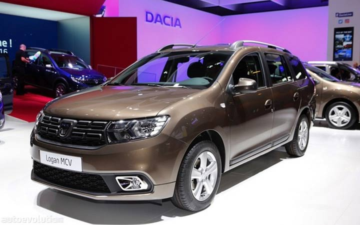 Renault Logan in the new body 2018-2019 year