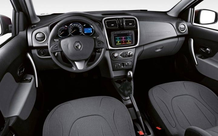 Interior Renault Logan 2019