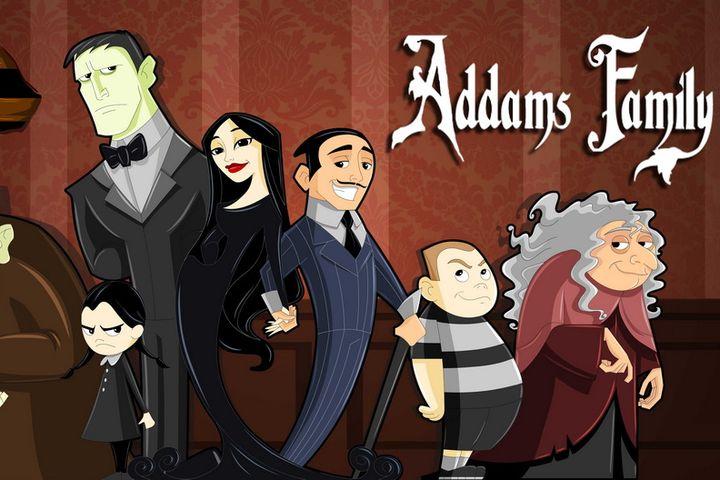 Персонажи семейки Аддамс