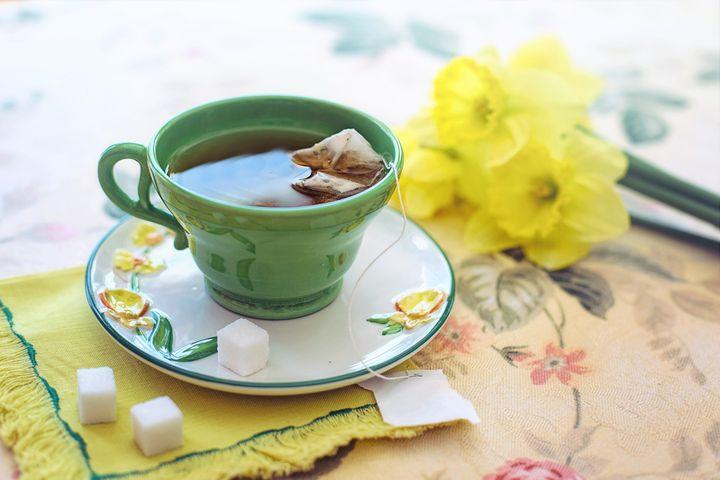 Чай в чашечке
