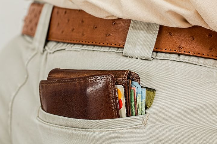 Wallet in your pocket