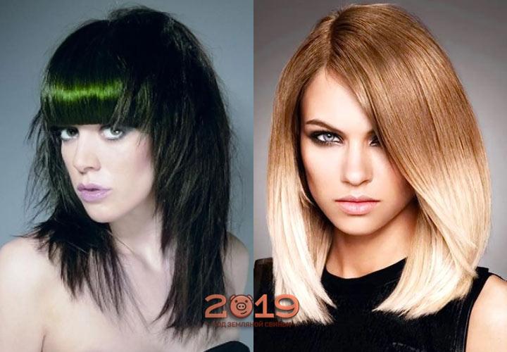 Стрижка для темных и светлых волос