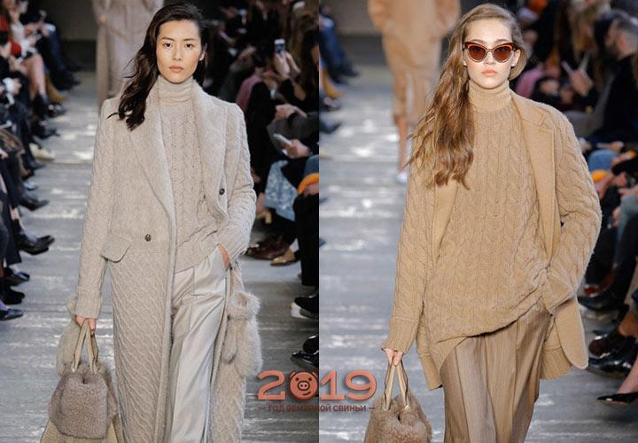 вязаная мода 2018 2019 года тренды фото модное вязание