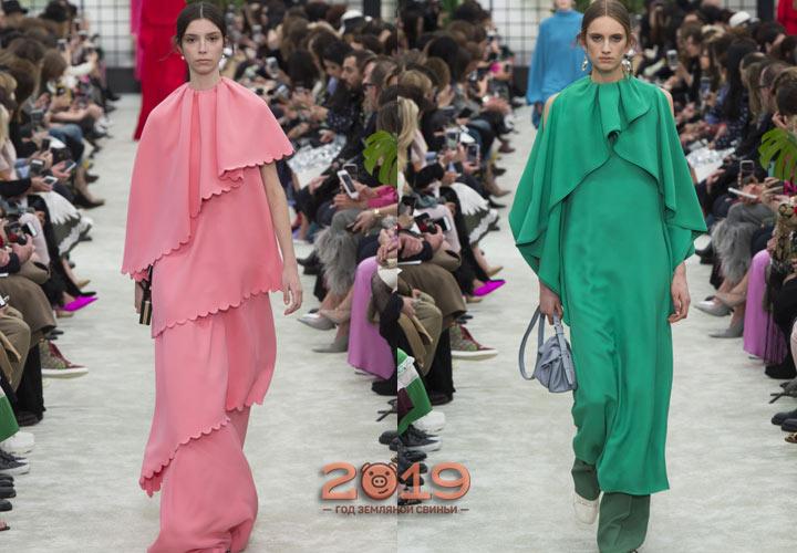 Вечерние платья от Valentino  зима 2018-2019