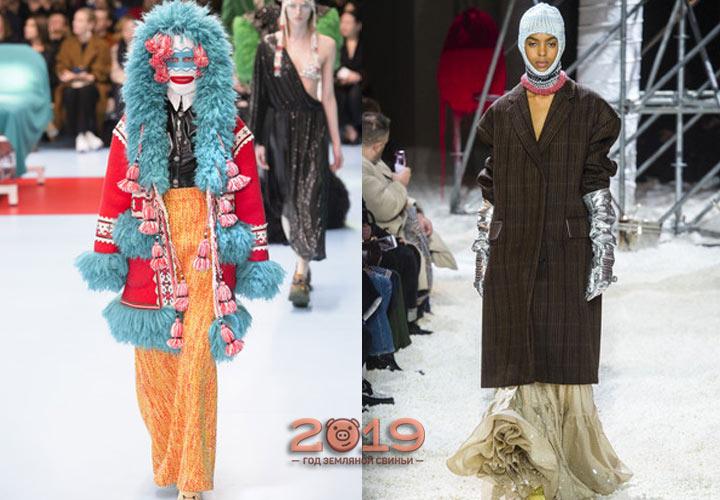 Модные показы сезона осень-зима 2018-2019