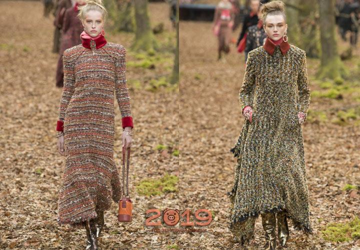 Модные образы Шанель для сезона  осень-зима 2018-2019