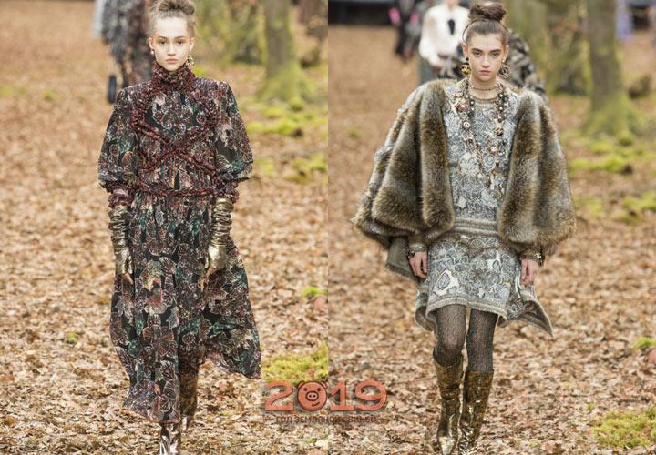 Тренды от Шанель зима 2018-2019