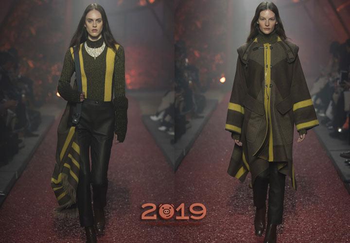 Модные образы Hermes  зима 2018-2019