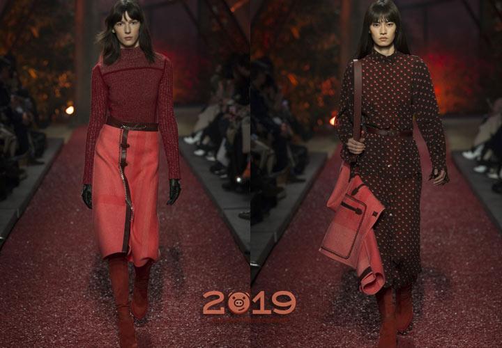 Яркие цвета от Hermes осень-зима 2018-2019