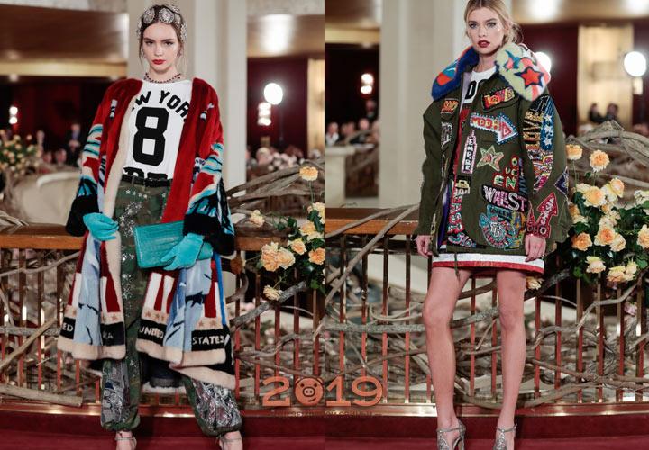 Эффектные луки Высокой моды 2018-2019 года
