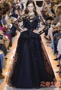 Вечернее платье Elie Saab осень-зима 2018-2019