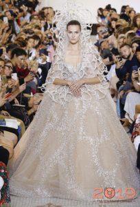 Свадебное платье Elie Saab осень-зима 2018-2019