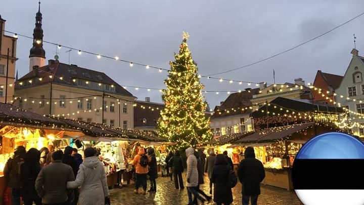 Новогодние ярмарки в Эстонии