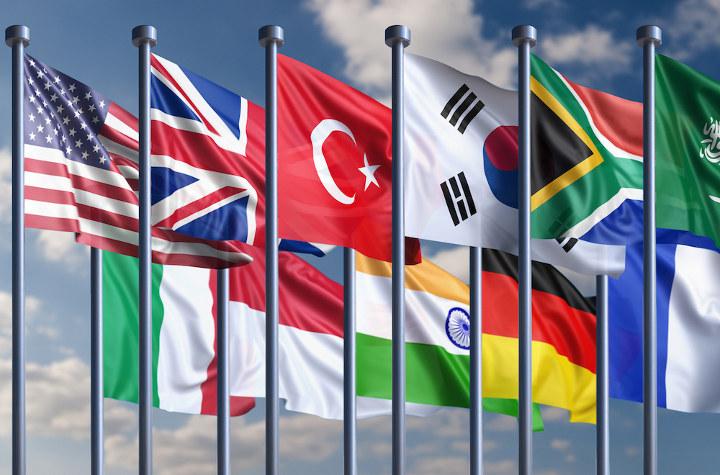 флаги G-20