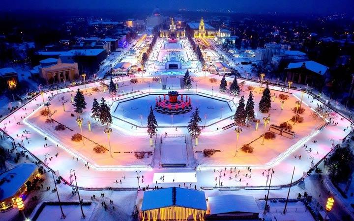 Московские катки 2019
