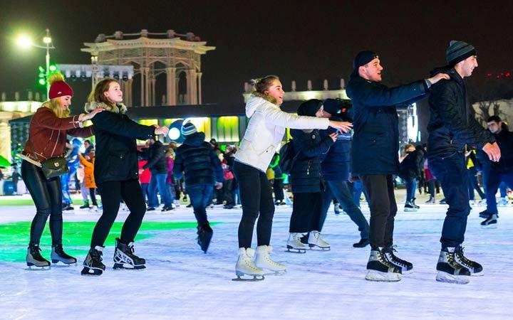 Лучшие бесплатные катки в Москве 2018-2019 год