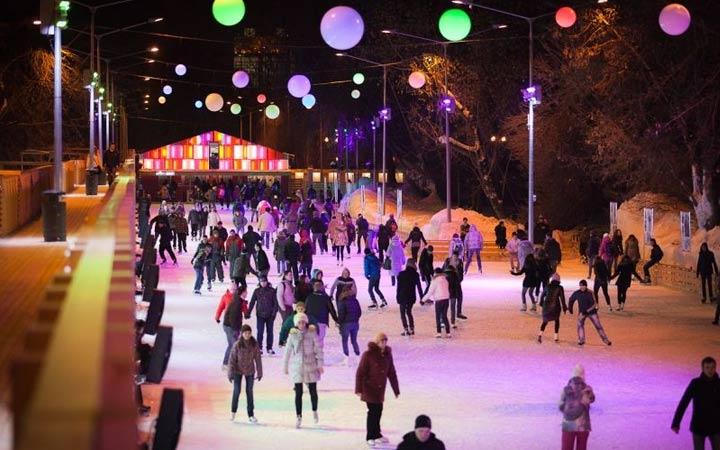 Цены и режим работы катка в парке Горького в 2018-2019 году