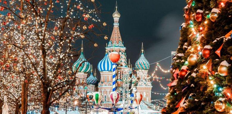 Картинки по запросу москва новогодняя 2019